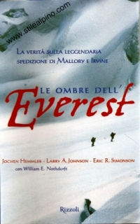Le ombre dell'Everest - Simonson, Hemmleb, Johnson, Nothdurft