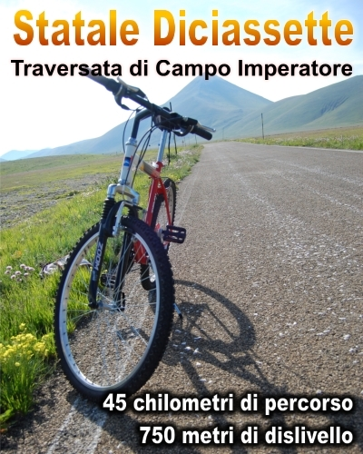 Traversanta di Campo Imperatore in MTB